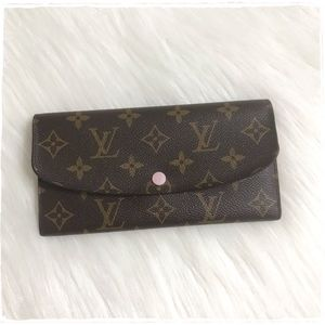 Louis Vuitton Emilie Wallet Rose Ballerine Pink